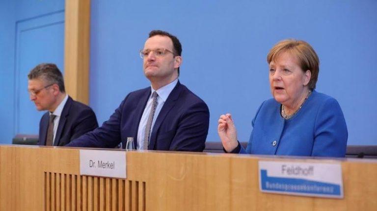 Coronavirus, Angela Merkel: