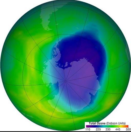 Il buco dell'ozono nel 2020 ha raggiunto la sua massima estensione